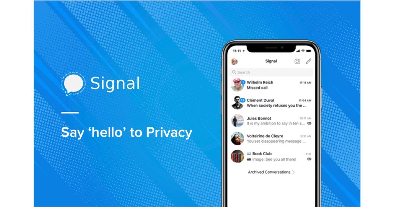 Vì sao app nhắn tin Signal trở thành hiện tượng trong những ngày gần đây?