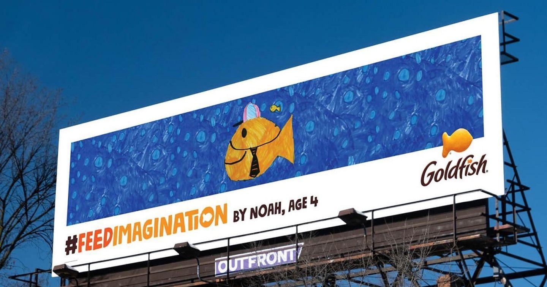 Chiến dịch 'Feed Imagination' của Goldfish chấp cánh cho trí tưởng tượng của trẻ thơ