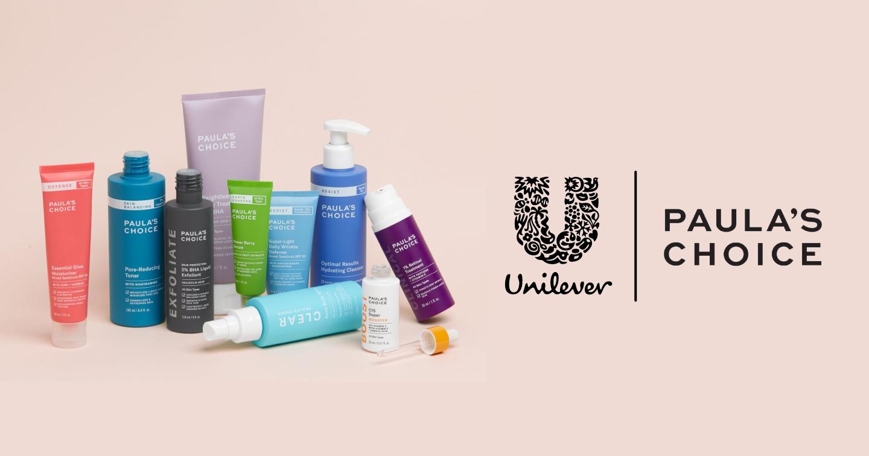 Unilever mua lại Paula's Choice, tiến vào phân khúc skincare cao cấp