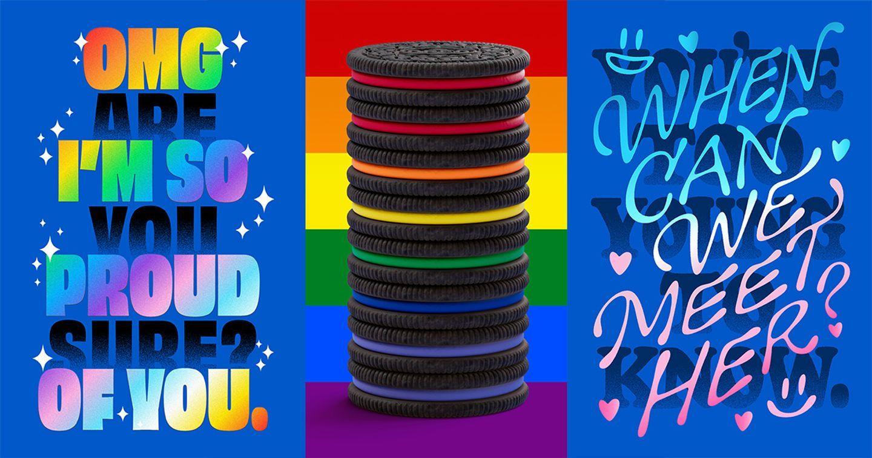 """OREO x PFLAG National ra mắt bộ sưu tập """"Những lời Tự hào"""" hưởng ứng sự kiện Pride Month"""