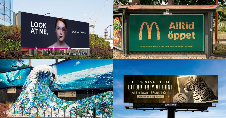 Chiêm ngưỡng 8 quảng cáo ngoài trời gây chấn động thế giới