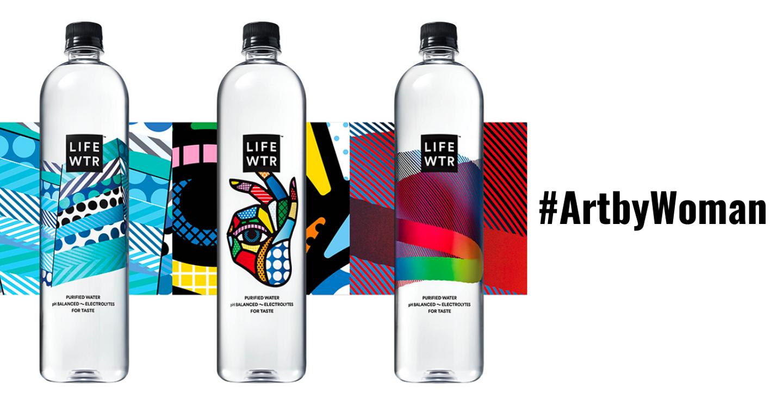 LIFEWTR (PepsiCo) đưa tác phẩm nghệ thuật của phụ nữ ra ánh sáng với chiến dịch #ArtbyWoman