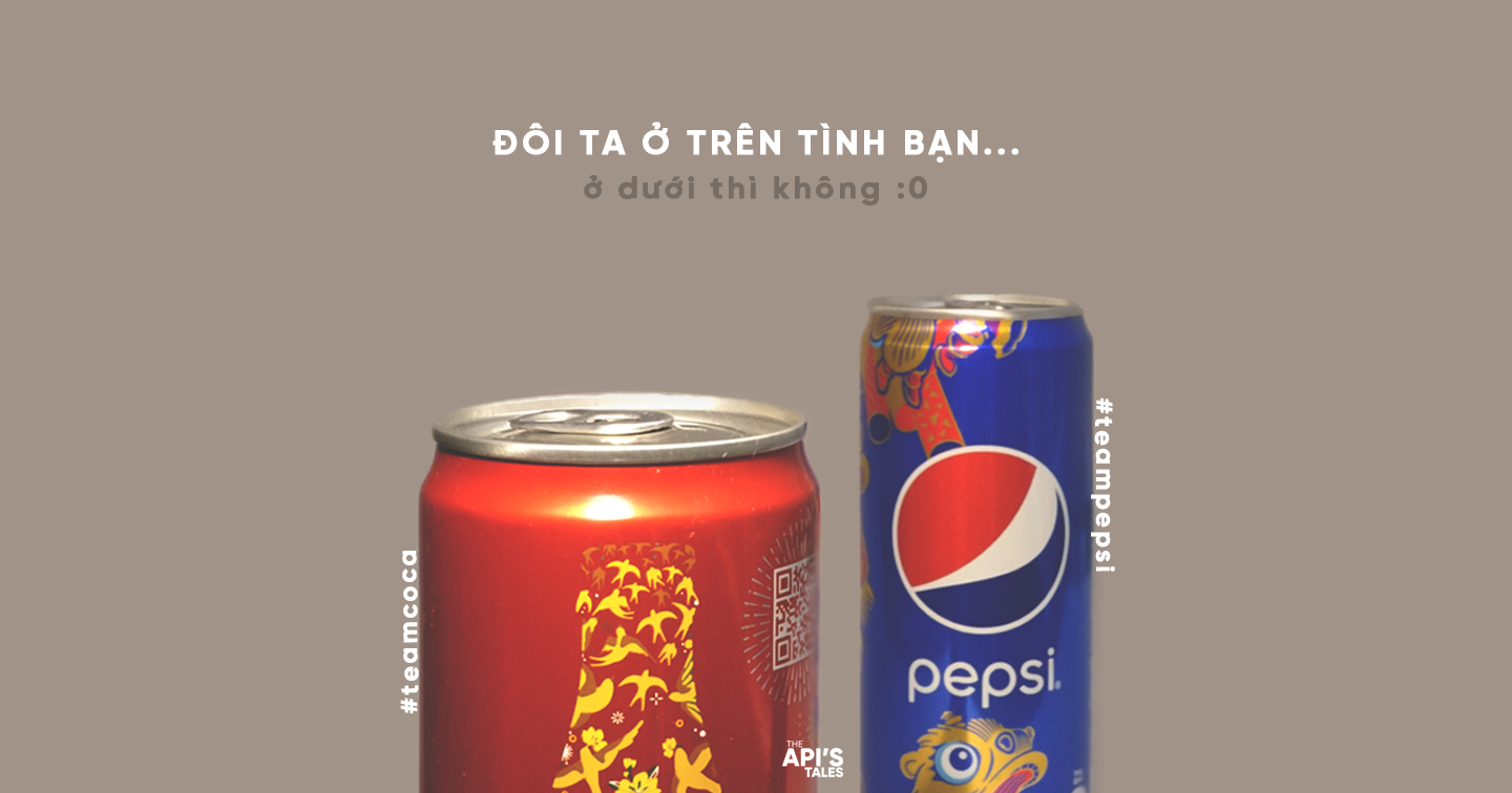 Coca Cola or Pepsi | And then we depart from each other...