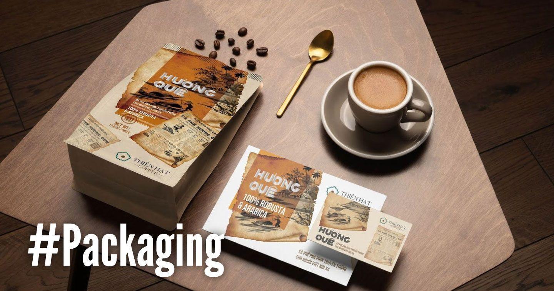 #Packaging: Huong Que Coffee - Tôn vinh cà phê Việt Nam và bản sắc văn hóa truyền thống