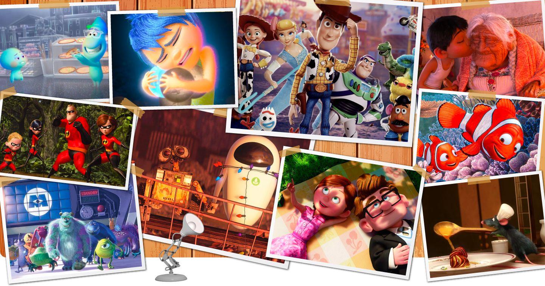 [Infographic] Trở về tuổi thơ với những bộ phim hoạt hình xuất sắc của Pixar