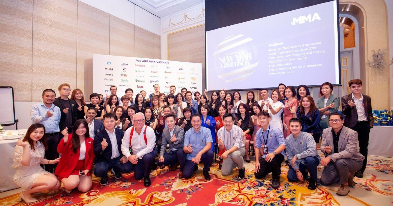Hoàng tráng và ấn tượng với chương trình chào đón năm mới của MMA Vietnam 2021