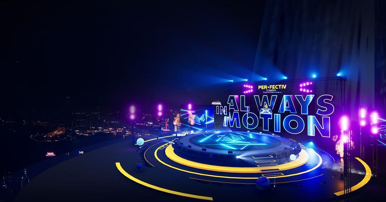 Sân khấu ảo ấn tượng tại sự kiện khởi động năm 2021 của PER-FECTIV