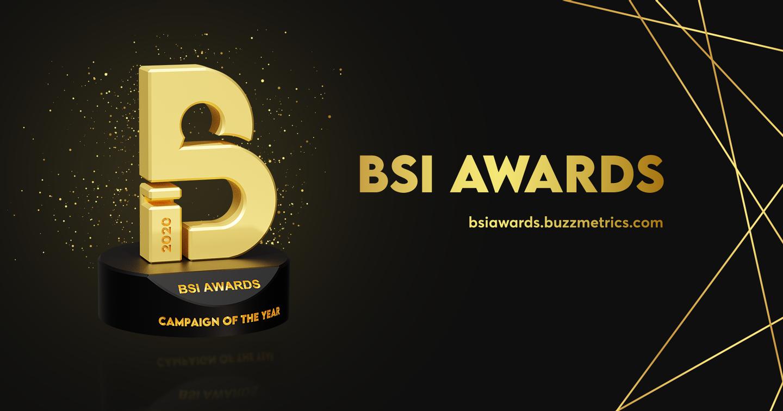BSI Awards 2020 - Giải thưởng Marketing ghi nhận ảnh hưởng của thương hiệu trên mạng xã hội