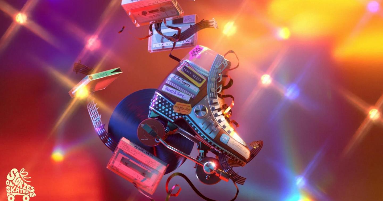 Adobe ra mắt Bộ sưu tập kỹ thuật số ấn tượng, tôn vinh nền văn hóa trượt patin của người Da đen
