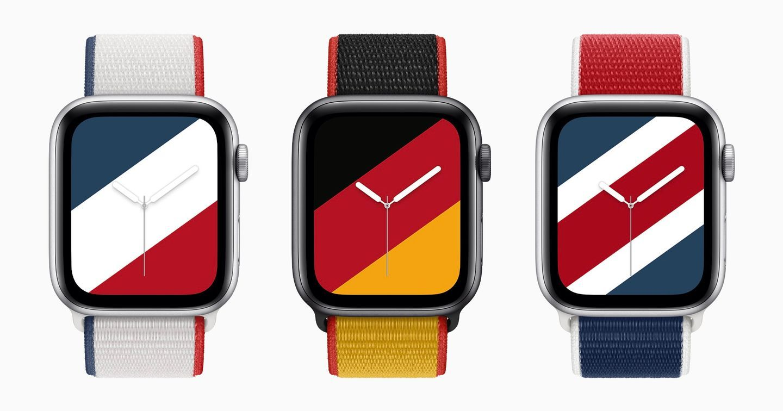 Apple tung BST dây đeo đồng hồ theo màu cờ của 22 quốc gia trước thềm Olympic 2021