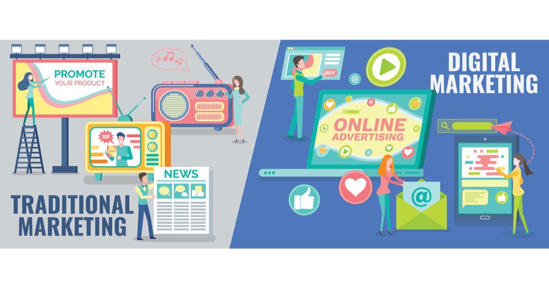 Digital marketing và marketing truyền thống – Đâu là giải pháp phù hợp cho doanh nghiệp