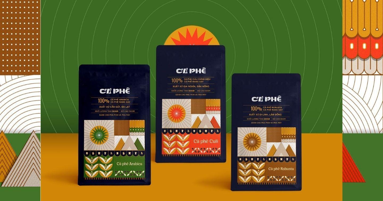 Cao nguyên nắng cháy - Mang văn hóa cao nguyên Việt Nam lên bao bì cà phê