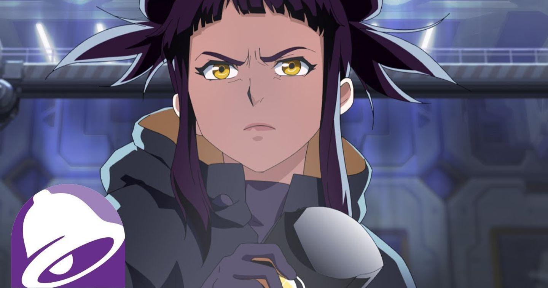 """""""Mãn nhãn"""" với những pha hành động ấn tượng trong quảng cáo anime của Taco Bell"""