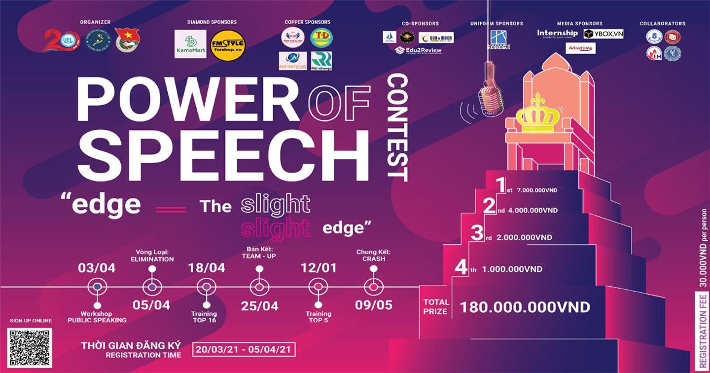 POWER OF SPEECH 2021 - TỰ TIN CẤT LÊN TIẾNG NÓI CỦA MÌNH