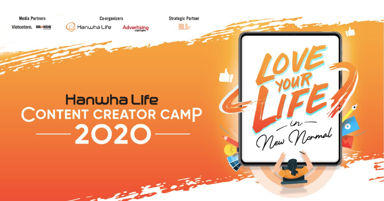 """Đề thi và thể lệ cuộc thi sáng tạo nội dung """"Hanwha Life Content Creator Camp 2020"""""""