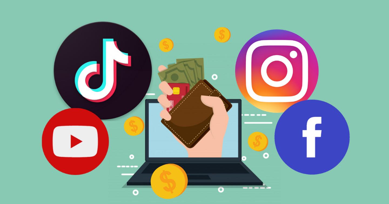 Tất tần tật các công cụ kiếm tiền trên 4 mạng xã hội phổ biến nhất