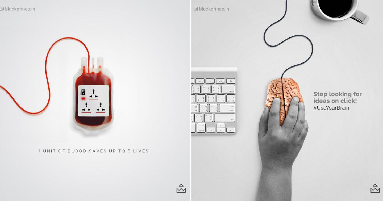 Loạt hình ảnh sáng tạo của nhà thiết kế Ấn Độ nâng cao nhận thức về xã hội