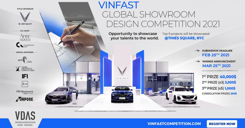 VDAS launches VinFast global showroom design competition, total prize valued over USD 60,000