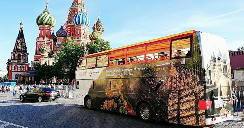 """Chiến dịch quảng cáo xe bus truyền cảm hứng du lịch của """"Indonesia kỳ diệu"""""""
