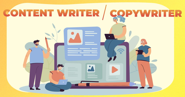 Vai trò của Copywriter vs. Content Writer: nên tách biệt hay gộp chung?