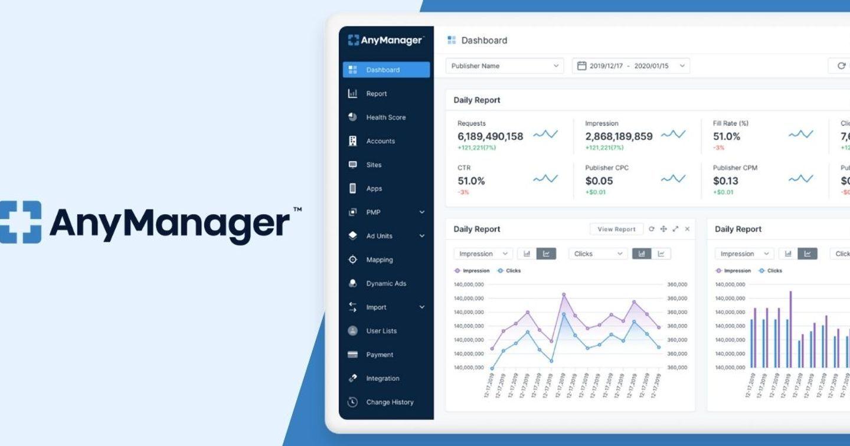 AnyMind Group nâng cấp tính năng di động trên AnyManager cho mobile và web publisher