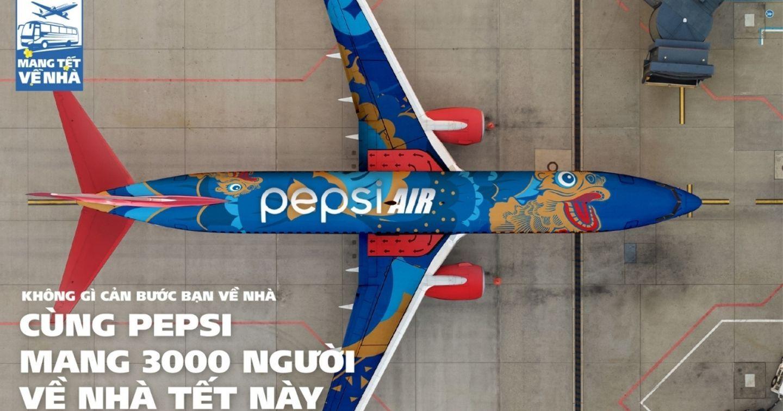 """""""Pepsi mang Tết về nhà"""" – Chiến dịch quảng cáo ấn tượng kết thúc năm 2020"""