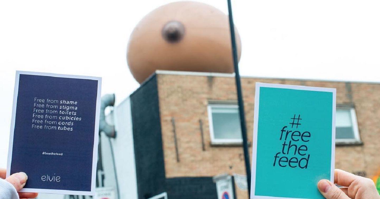Chiến dịch #FreeTheFeed: Xóa bỏ ngại ngùng khi cho con bú ở nơi công cộng