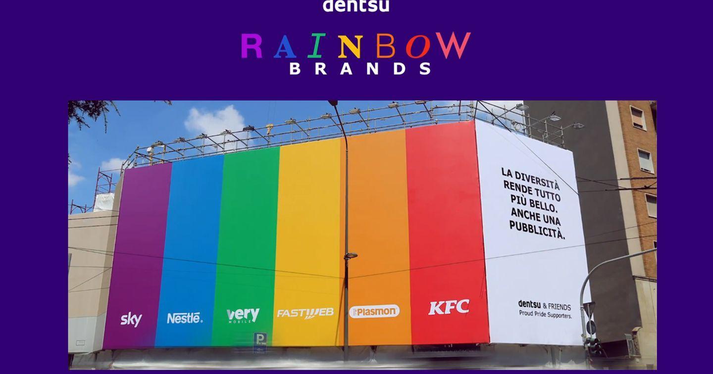 Chiến dịch ủng hộ Pride Month bằng cách hóa thân thành màu cờ LGBTQIA+ của các nhãn hàng lớn