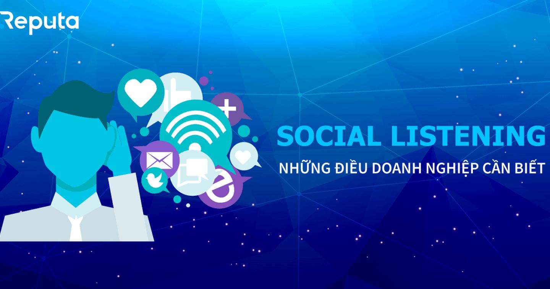 Social Listening: Những điều Doanh nghiệp cần biết trước khi bắt đầu