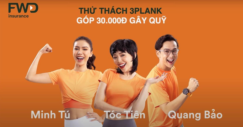 """FWD Việt Nam khởi động """"Thử thách 3Plank"""" nhằm gây quỹ ủng hộ bệnh nhân mắc bệnh hiểm nghèo"""
