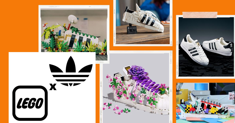 """""""Hô biến"""" đôi giày adidas Superstar kinh điển với phiên bản LEGO"""