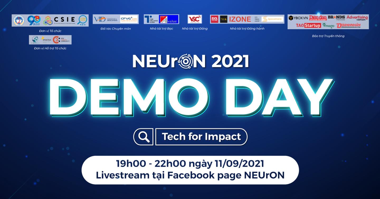 DEMO DAY - Sự Kiện Chung Kết Và Tốt Nghiệp NEUrON 2021