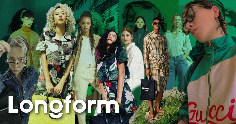 """""""Xanh"""" - xu hướng lên ngôi của ngành thời trang toàn cầu"""