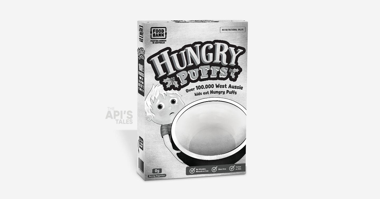 Hungry Puffs | 1 hộp rỗng đổI 10 bữa no