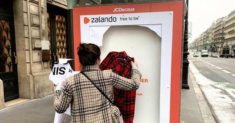 """Chiến dịch OOH """"Free To Be"""" của Zalando cất tiếng nói chống lại định kiến về thời trang"""