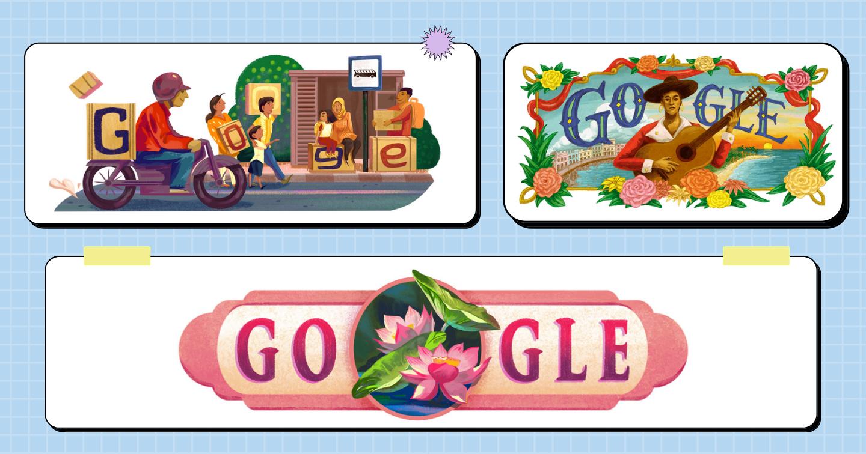 """5 điều thú vị về """"cuốn lịch sáng tạo"""" Google Doodles"""