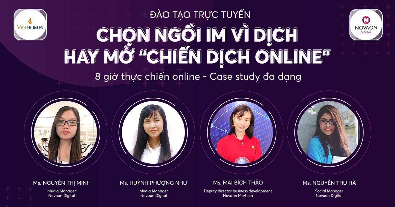 [VINHOMES X NOVAON] Chọn ngồi im vì dịch hay mở chiến dịch online