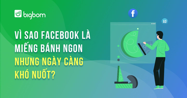 """Làm sao để tăng trưởng khi """"miếng bánh"""" Facebook ngày càng khó nuốt?"""