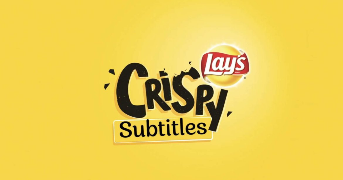 Lay's Chips create technology that activates YouTube subtitles when it hears you munching potato chips