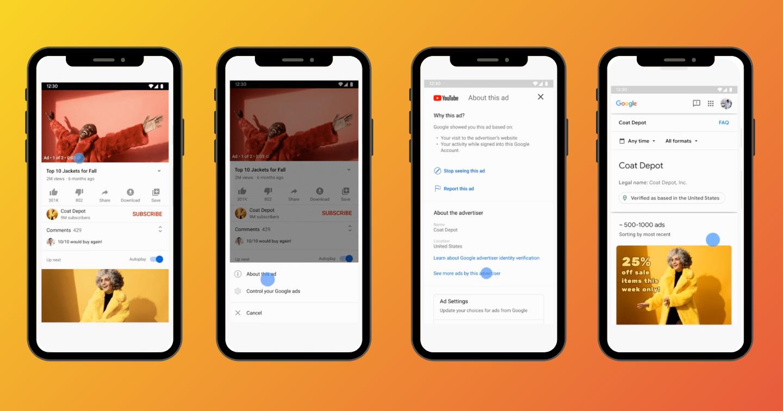 Google công bố bản cập nhật mới, cho phép người dùng xem quảng cáo các thương hiệu đã chạy