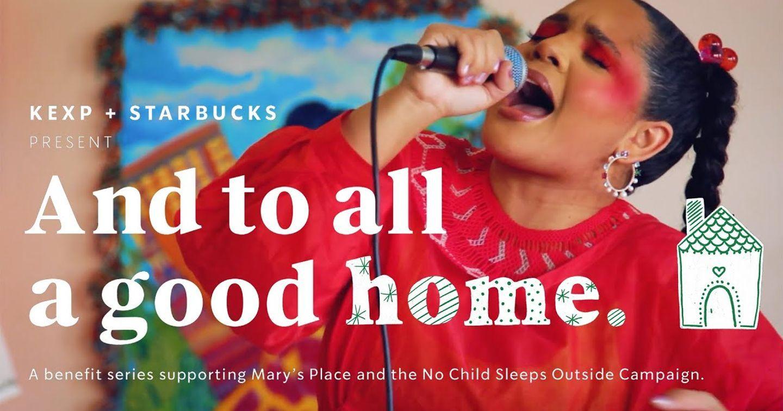 """Starbucks và KEXP ra mắt chuỗi video nghệ thuật gây quỹ cho chiến dịch  """"Để không đứa trẻ nào phải ngủ bên ngoài"""""""