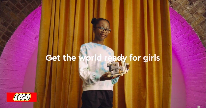 """Lego củng cố sự tự tin cho các bé gái qua TVC: """"Let's get the world ready for girls"""""""
