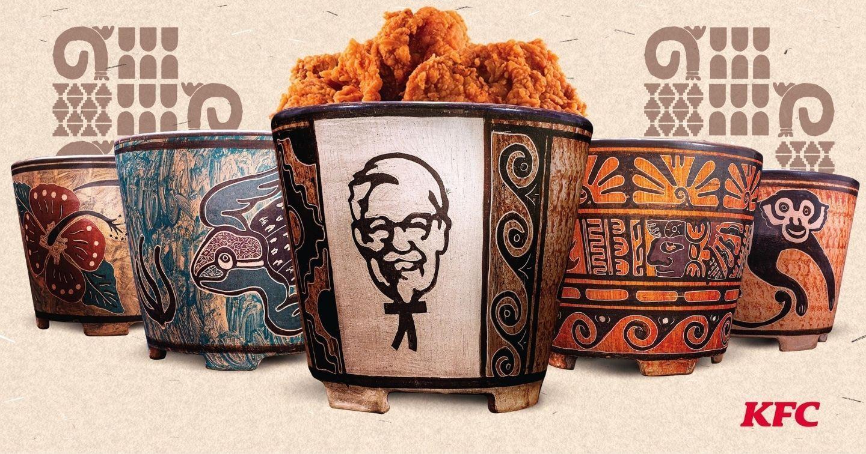 """""""Nổi lửa"""" để """"giữ lửa"""": KFC kết hợp cùng các nghệ nhân gốm Costa Rica ra mắt mẫu hộp đựng ấn tượng"""