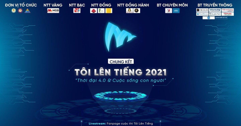 """""""Tôi Lên Tiếng 2021"""" - Lộ diện TOP 4 tài năng đêm chung kết"""