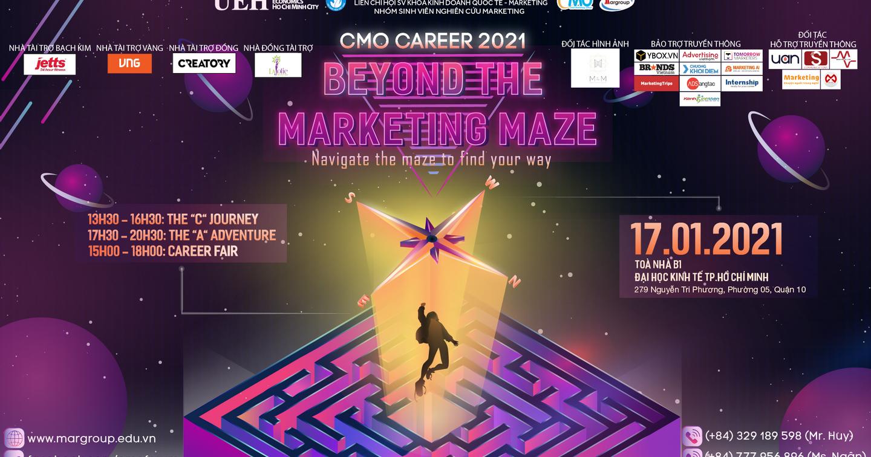 CMO Career 2021 | Bật mí dàn diễn giả tại chương trình CMO Career 2021