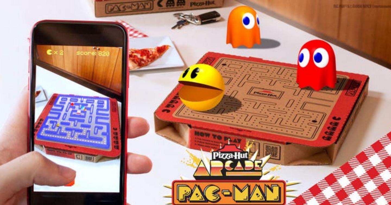 """Hộp bánh pizza phiên bản AR -  tiêu điểm trong chiến dịch quảng cáo """"Newstalgia"""" của Pizza Hut"""