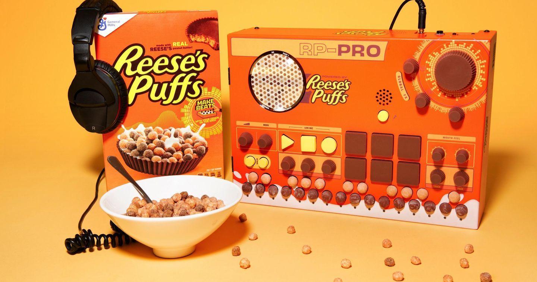 """Ấn tượng với """"hộp âm nhạc"""" khơi gợi cảm hứng sáng tác của Reese's Puffs"""