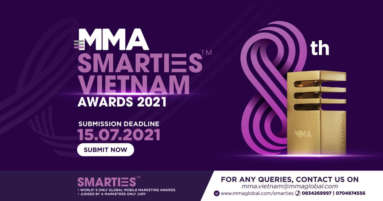 Giải thưởng SMARTIES™ 2021 - Sân chơi duy nhất và lớn nhất về Modern Marketing tại Việt Nam đã trở lại