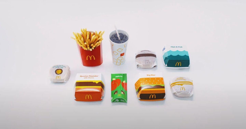 """McDonald's trình làng thiết kế bao bì mới """"Bright and Beautiful"""""""