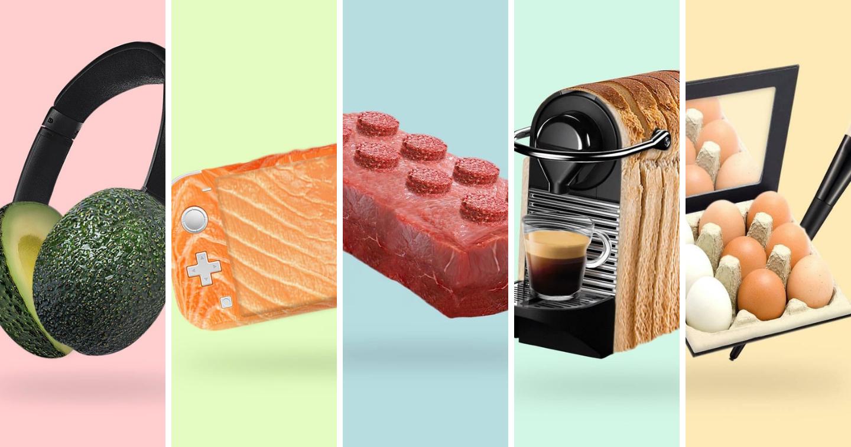 """Bộ ảnh """"mix-up"""" sáng tạo từ Amazon Singapore: Vật dụng hằng ngày kết hợp với đồ ăn tươi"""
